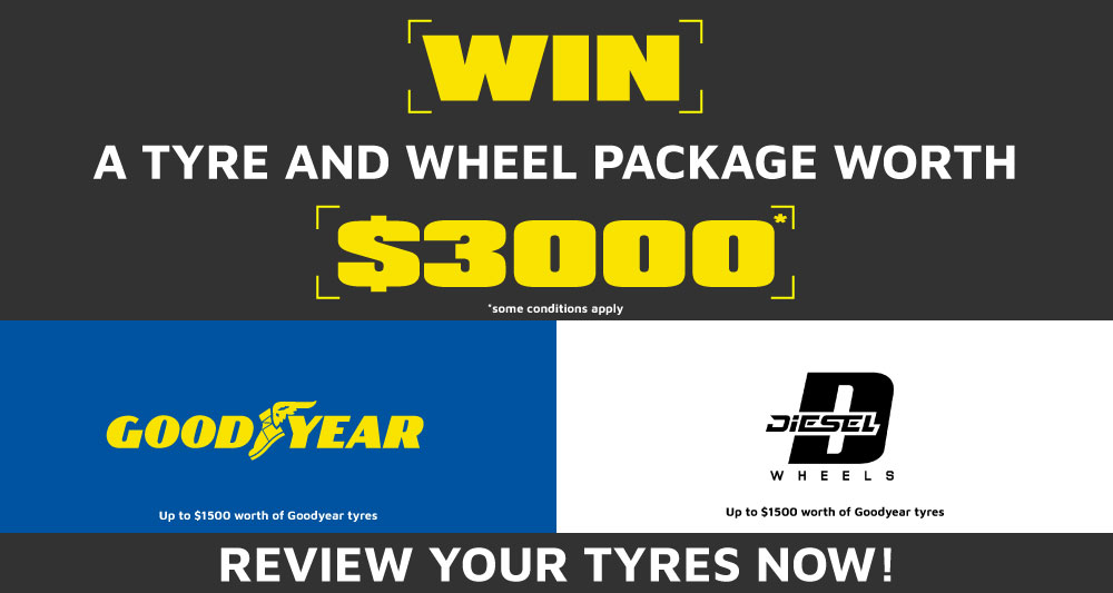 Goodyear and Diesel giveaway