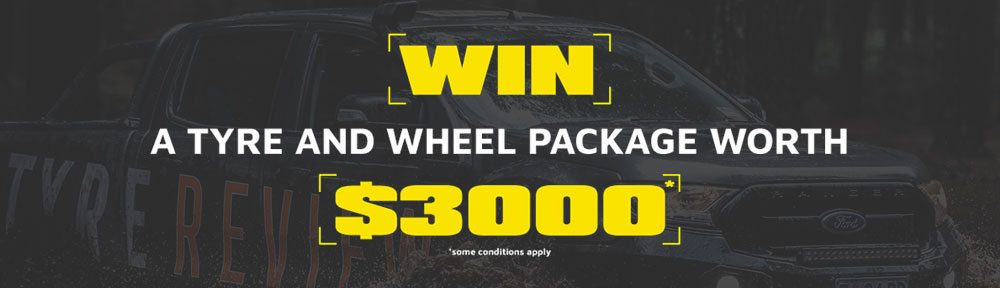 WIN A TYRE AND WHEEL PACKAGE WORTH $3000