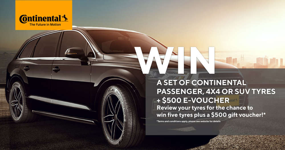 Continental giveaway