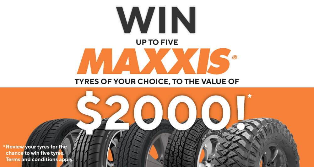Maxxis giveaway